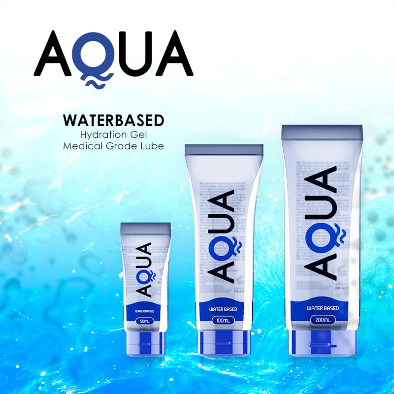 Aqua Quality Lubricante Base de Agua 100ml 4