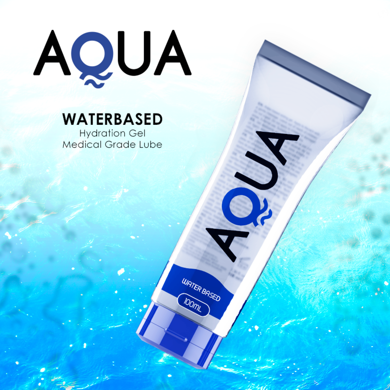 Aqua Quality Lubricante Base de Agua 100ml 3