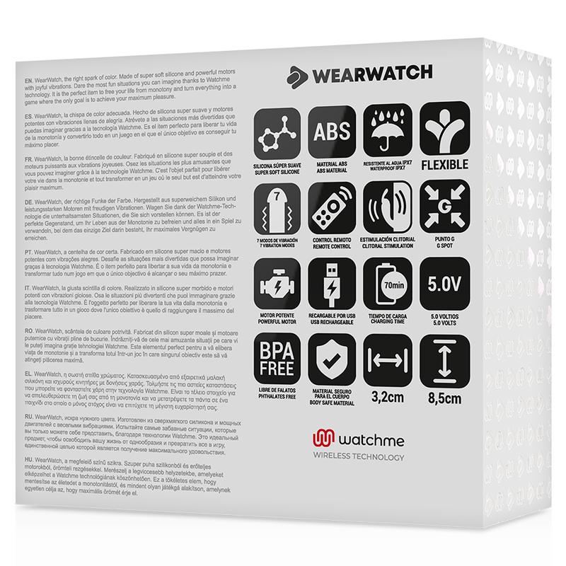 Wearwatch Vibrador Dual Technology Watchme Light Green 6