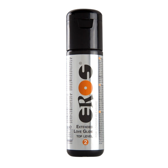 Lubricante Base Agua Extended Top Level 2 100 ml Eros 1