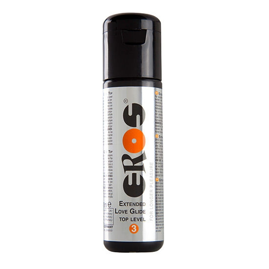 Lubricante Base Agua Extended Top Level 3 100 ml Eros 1