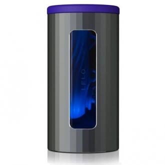 Lelo F1s V2 Masturbador con Tecnologia Sdk Azul y Metal