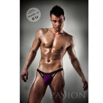 Slip 006 Men Purple Clear Lingerie