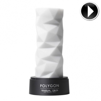 TENGA 3D Polygon Sculpted Masturbador Intenso