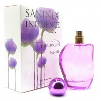 Perfume Feromonas Mujer Saninex Influence Sex