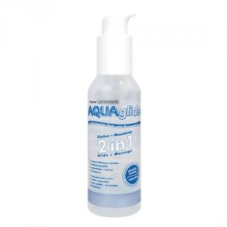 Aquaglide 2 en 1 Lubricante + Masaje 125 ml