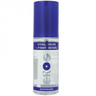Lubricante Base Agua Ácido Hialurónico y Pantenol 100 ml Eros