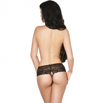 Le Frivole - 04341 Panties con Abertura Negro