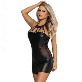 Subblime Vestido con Tiras Negro