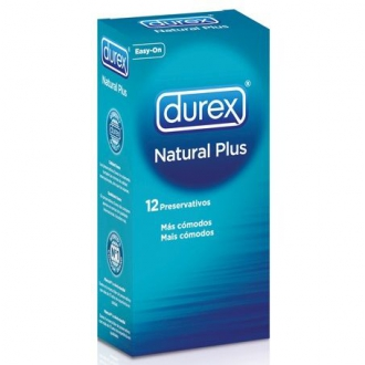 Preservativo Durex Pack Natural Plus 12 Unidades