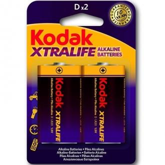 Kodak Xtralife Pilas Alcalinas D Lr20 1.5v