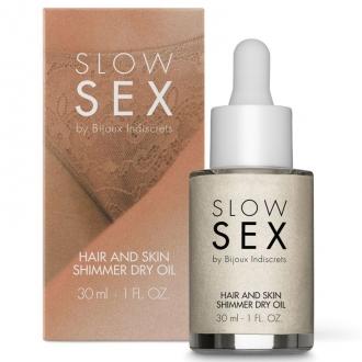 Slow Sex Aceite Seco Iluminador Multifuncion 30 ml