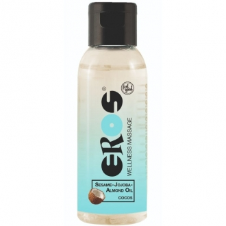 Eros Wellness Aceite Masaje Coco 50 ml