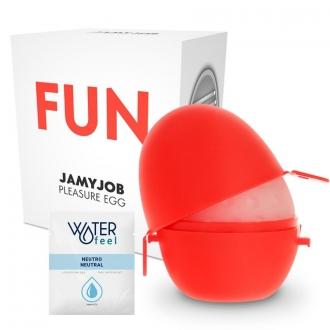 Jamyjob Huevo Masturbador Discreto Edicion Rojo Fun