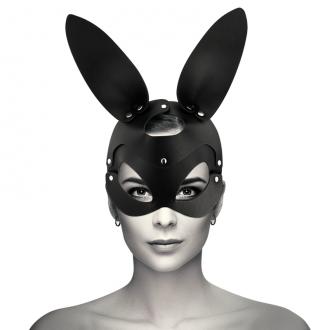 Coquette Mascara Cuero Vegano con Orejas de Conejo