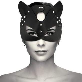 Coquette Mascara Cuero Vegano con Orejas de Gato