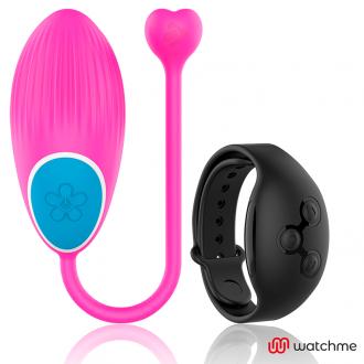 Wearwatch Huevo Control Remoto Technology Watchme Rosa / Negro