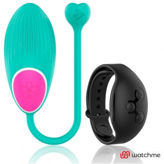 Wearwatch Huevo Control Remoto Technology Watchme Verde / Negro