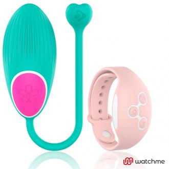 Wearwatch Huevo Control Remoto Technology Watchme Green / Pink