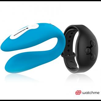 Wearwatch Vibrador Dual Technology Watchme Azul/Negro