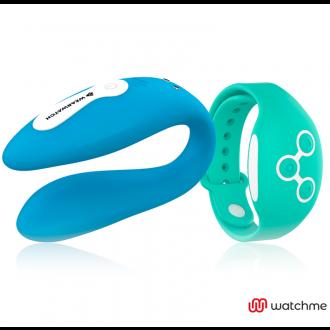 Wearwatch Vibrador Dual Technology Watchme Azul/Verde