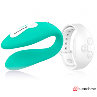 Wearwatch Vibrador Dual Technology Watchme Agua Marina / Níveo