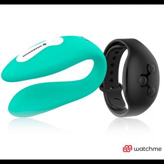 Wearwatch Vibrador Dual Technology Watchme Aguamarina / Azabache