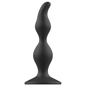 Addicted Toys Anal Sexual Plug 12cm Negro