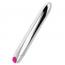 Ohmama Vibrador Silver Recargable 10 Modos 18.5 cm