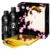 Imagen Miniatura Shunga Gel de Masaje Erotico Cuerpo a Cuerpo Oriental Fresas y Champagne 1