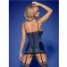 Imagen Miniatura Obsessive Auroria Corset & Tanga  2