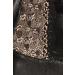 Imagen Miniatura Passion Marie Chemise & Tanga Negro Leather  1