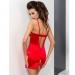 Imagen Miniatura Passion Loraine Chemise & Tanga Rojo  2