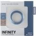 Imagen Miniatura Mjuze Anillo para Pene Silicona Infinity Delgado L 2
