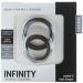 Imagen Miniatura Mjuze Anillo para Pene Silicona Infinity M y L 2