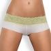 Imagen Miniatura Obsessive Pack Tanga + Shorties Lacea Verde y Blanco  5