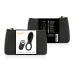Imagen Miniatura Coquette Anillo Vibrador Control Remoto Recargable Negro / Gold 2