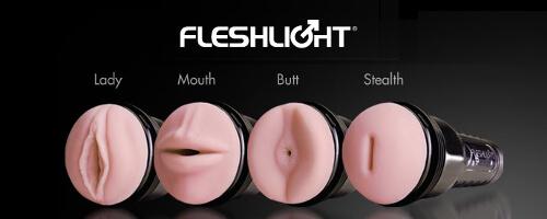 Masturbadores masculinos Fleshlight